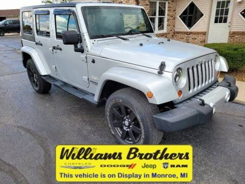 2009 Jeep Wrangler Unlimited for sale at Williams Brothers - Pre-Owned Monroe in Monroe MI