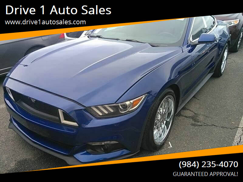 2016 Ford Mustang for sale at Drive 1 Auto Sales in Wake Forest NC