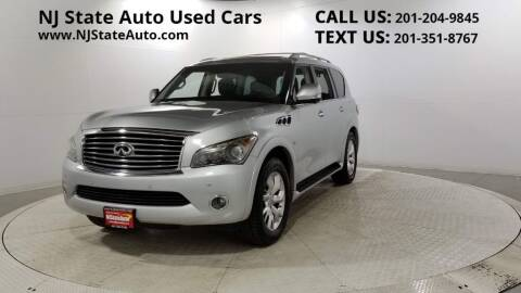 2014 Infiniti QX80 for sale at NJ State Auto Auction in Jersey City NJ