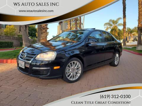 2009 Volkswagen Jetta for sale at WS AUTO SALES INC in El Cajon CA