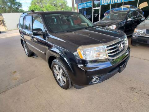 2013 Honda Pilot for sale at Divine Auto Sales LLC in Omaha NE