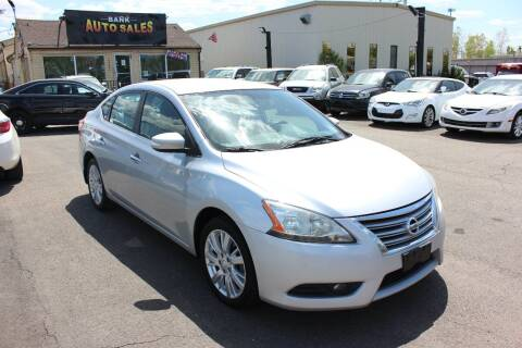 2013 Nissan Sentra for sale at BANK AUTO SALES in Wayne MI