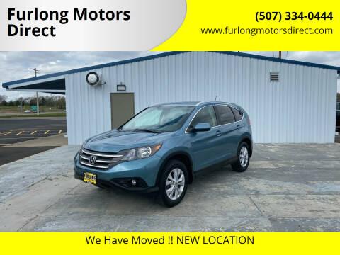 2013 Honda CR-V for sale at Furlong Motors Direct in Faribault MN