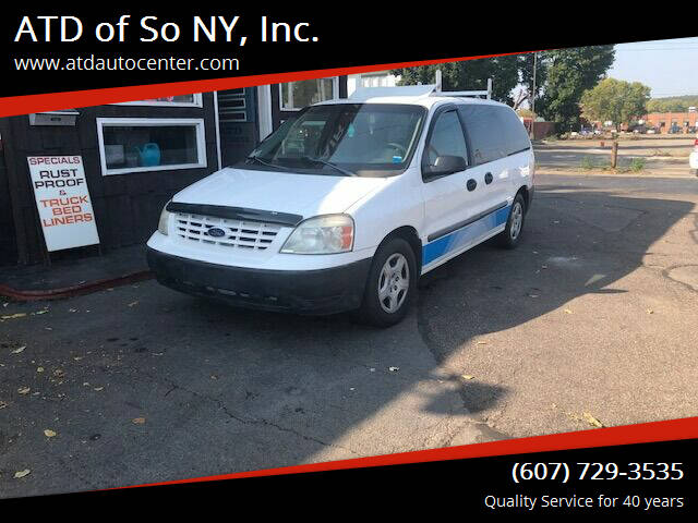2006 Ford Freestar for sale at ATD of So NY, Inc. in Johnson City NY