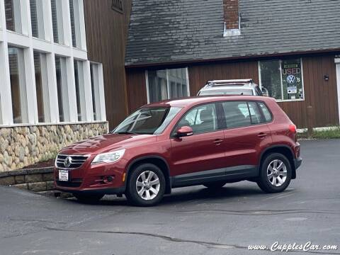 2010 Volkswagen Tiguan for sale at Cupples Car Company in Belmont NH