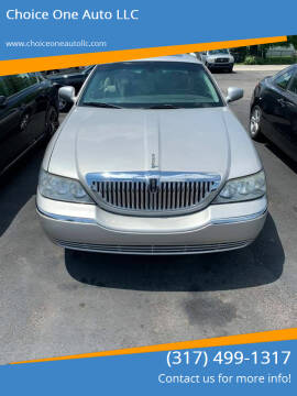 2007 Lincoln Town Car for sale at Choice One Auto LLC in Beech Grove IN