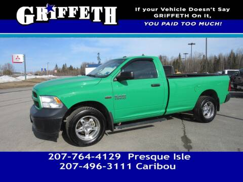 2016 RAM Ram Pickup 1500 for sale at Griffeth Mitsubishi - Pre-owned in Caribou ME