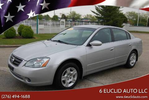2003 Nissan Altima for sale at 6 Euclid Auto LLC in Bristol VA