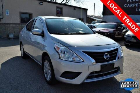 2017 Nissan Versa for sale at LAKESIDE MOTORS, INC. in Sachse TX
