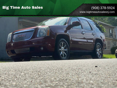 2008 GMC Yukon for sale at Big Time Auto Sales in Vauxhall NJ