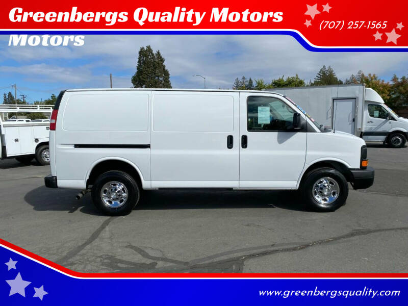 2015 Chevrolet Express Cargo for sale at Greenbergs Quality Motors in Napa CA