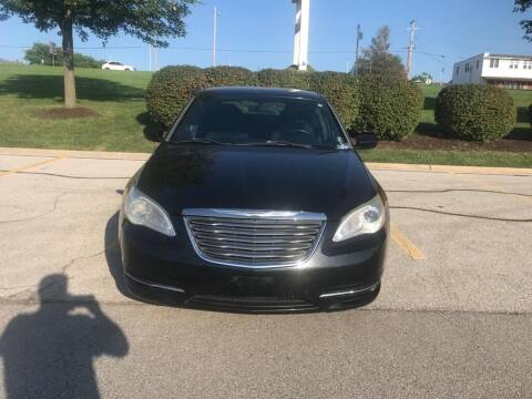 2012 Chrysler 200 for sale at Auto Nova in Saint Louis MO