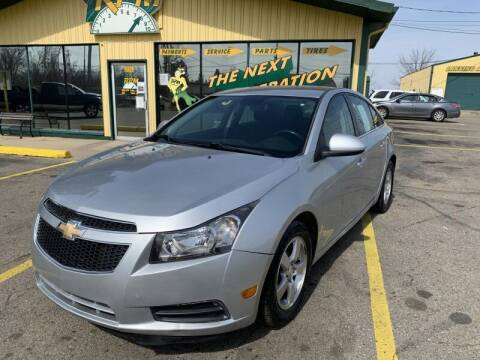 2013 Chevrolet Cruze for sale at RPM AUTO SALES in Lansing MI