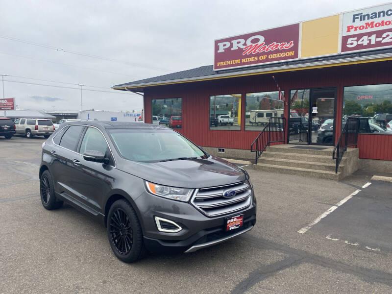 2017 Ford Edge for sale at Pro Motors in Roseburg OR