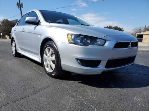 2014 Mitsubishi Lancer for sale at Thornhill Motor Company in Lake Worth TX