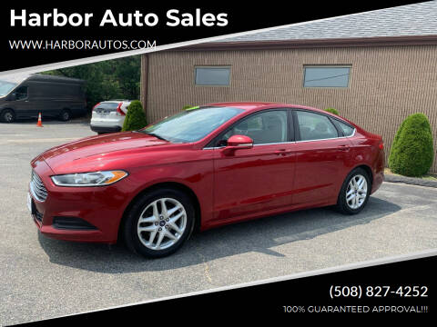 2014 Ford Fusion for sale at Harbor Auto Sales in Hyannis MA