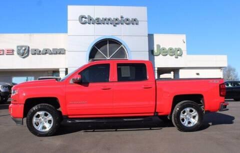 2017 Chevrolet Silverado 1500 for sale at Champion Chevrolet in Athens AL