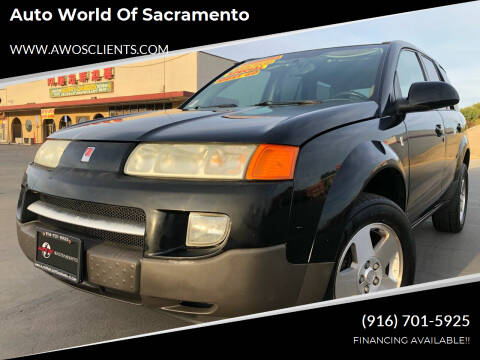 2005 Saturn Vue for sale at Auto World of Sacramento Stockton Blvd in Sacramento CA