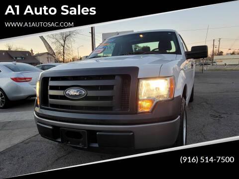 2011 Ford F-150 for sale at A1 Auto Sales in Sacramento CA