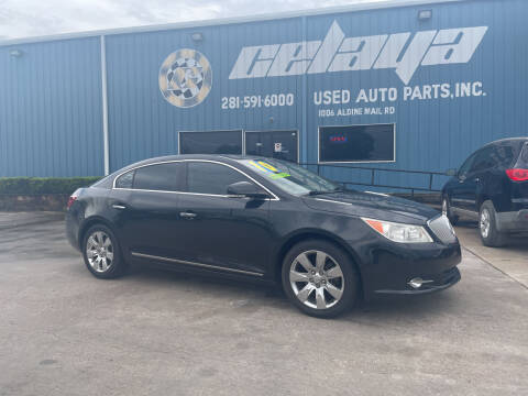 2010 Buick LaCrosse for sale at CELAYA AUTO SALES INC in Houston TX