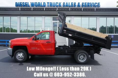 2017 Chevrolet Silverado 3500HD CC for sale at Diesel World Truck Sales - Dump Truck in Plaistow NH