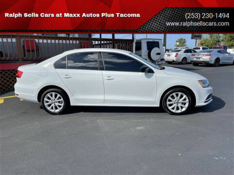 2015 Volkswagen Jetta for sale at Ralph Sells Cars at Maxx Autos Plus Tacoma in Tacoma WA