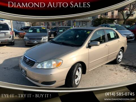 2005 Toyota Corolla for sale at Diamond Auto Sales in Milwaukee WI