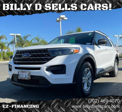 2020 Ford Explorer for sale at BILLY D SELLS CARS! in Temecula CA