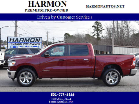 2019 RAM Ram Pickup 1500 for sale at Harmon Premium Pre-Owned in Benton AR