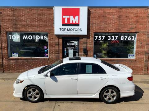 2012 Toyota Corolla for sale at Top Motors LLC in Portsmouth VA