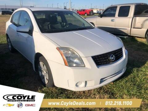 2008 Nissan Sentra for sale at COYLE GM - COYLE NISSAN in Clarksville IN