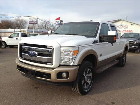 2011 Ford F-250 Super Duty for sale at Steves Auto Sales in Cambridge MN