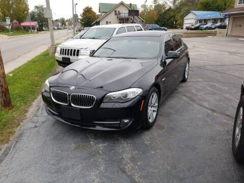 2013 BMW 5 Series for sale at Indiana Auto Sales Inc in Bloomington IN