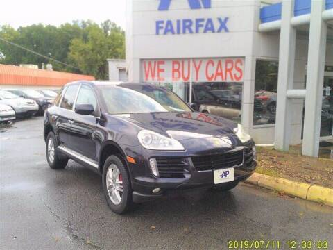 2008 Porsche Cayenne for sale at AP Fairfax in Fairfax VA