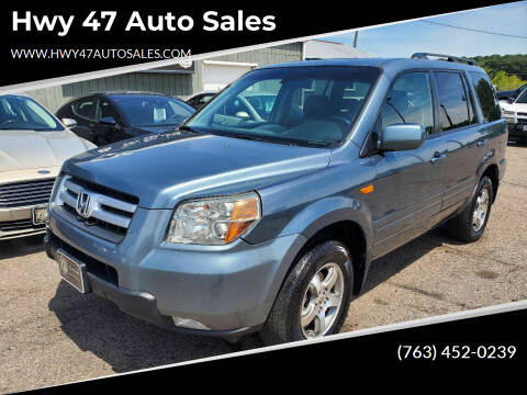 2006 Honda Pilot for sale at Hwy 47 Auto Sales in Saint Francis MN