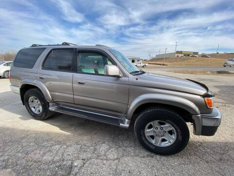 2001 Toyota 4Runner for sale at Kansas Car Finder in Valley Falls KS