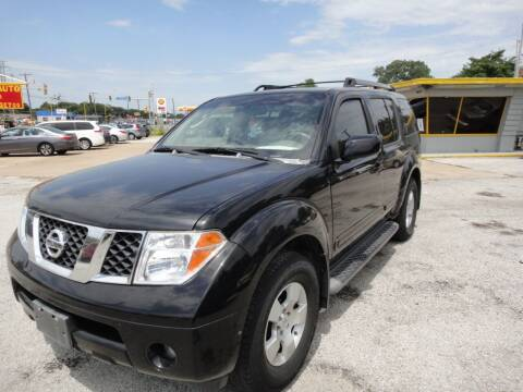 2006 Nissan Pathfinder for sale at Rhima Motor Company, Inc. in Haltom City TX