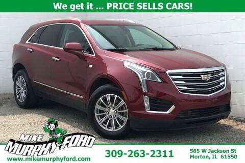 2017 Cadillac XT5 for sale at Mike Murphy Ford in Morton IL