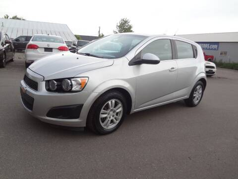 2014 Chevrolet Sonic for sale at Garza Motors in Shakopee MN