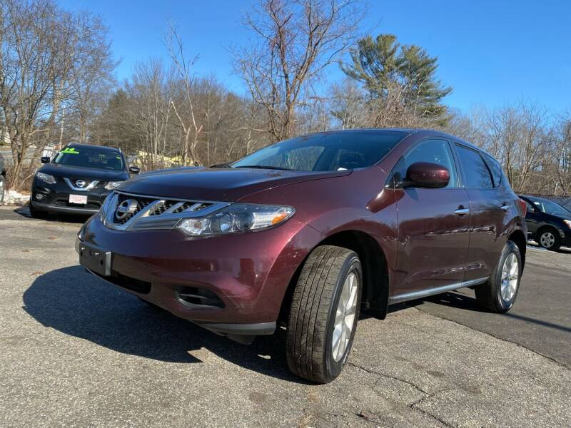 2014 Nissan Murano for sale at Royal Crest Motors in Haverhill MA