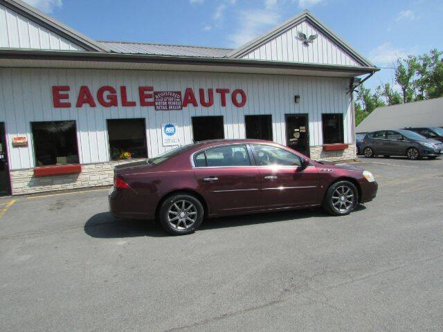 2006 Buick Lucerne for sale at Eagle Auto Center in Seneca Falls NY