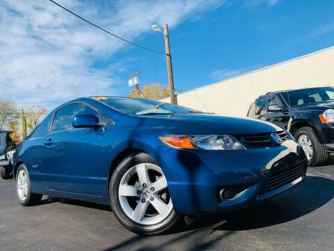 2008 Honda Civic for sale at Alpha AutoSports in Roseville CA