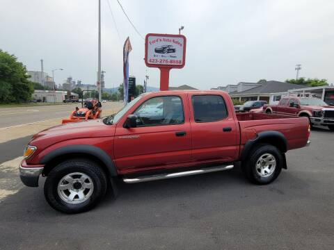 2002 Toyota Tacoma for sale at Ford's Auto Sales in Kingsport TN