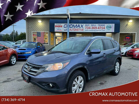 2012 Honda CR-V for sale at Cromax Automotive in Ann Arbor MI