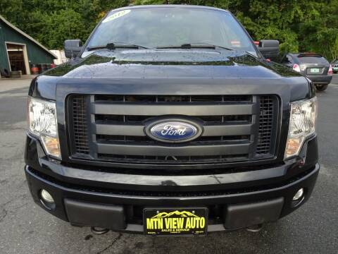 2012 Ford F-150 for sale at MOUNTAIN VIEW AUTO in Lyndonville VT