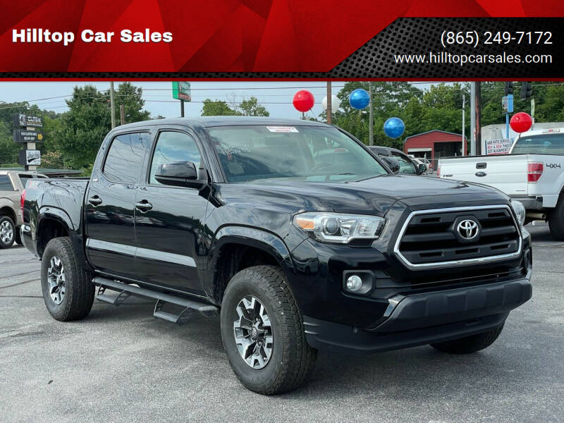 2016 Toyota Tacoma for sale at Hilltop Car Sales in Knoxville TN