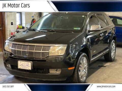 2010 Lincoln MKX for sale at JK Motor Cars in Pittsburgh PA