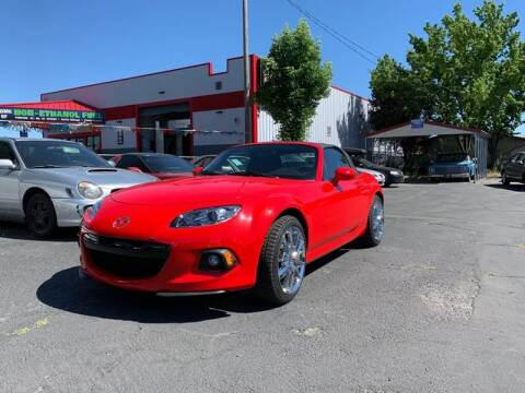 2013 Mazda MX-5 Miata for sale at Silverline Auto Boise in Meridian ID