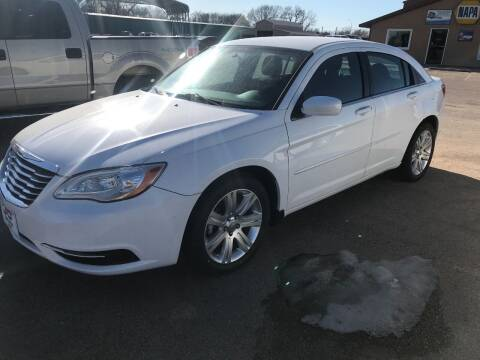 2012 Chrysler 200 for sale at J & D Auto Sales in Cairo NE