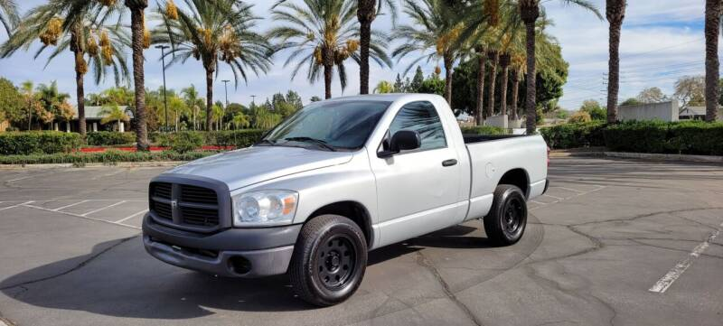 2008 Dodge Ram Pickup 1500 for sale at Alltech Auto Sales in Covina CA